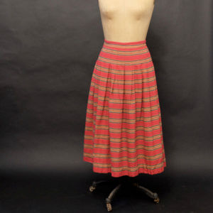 1970s Thick Woven Skirt